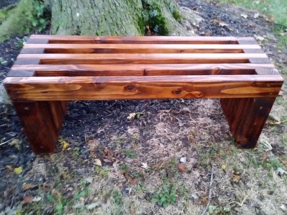 Rustic Outdoor Indoor Wooden Bench