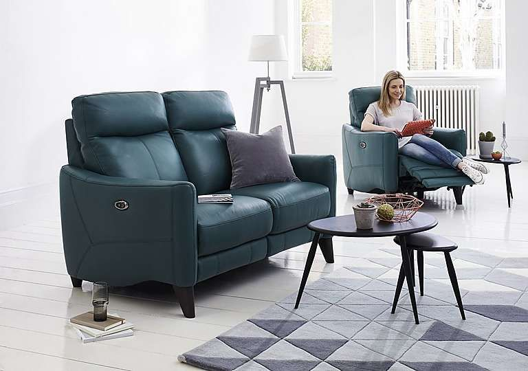 Incroyable Compact Collection Petit 2 Seater Recliner Sofa