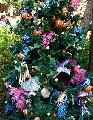 gorgeous with attitudes finding nemo christmas tree smallwordbigfuncom disney disneychristmas - Finding Nemo Christmas Decorations
