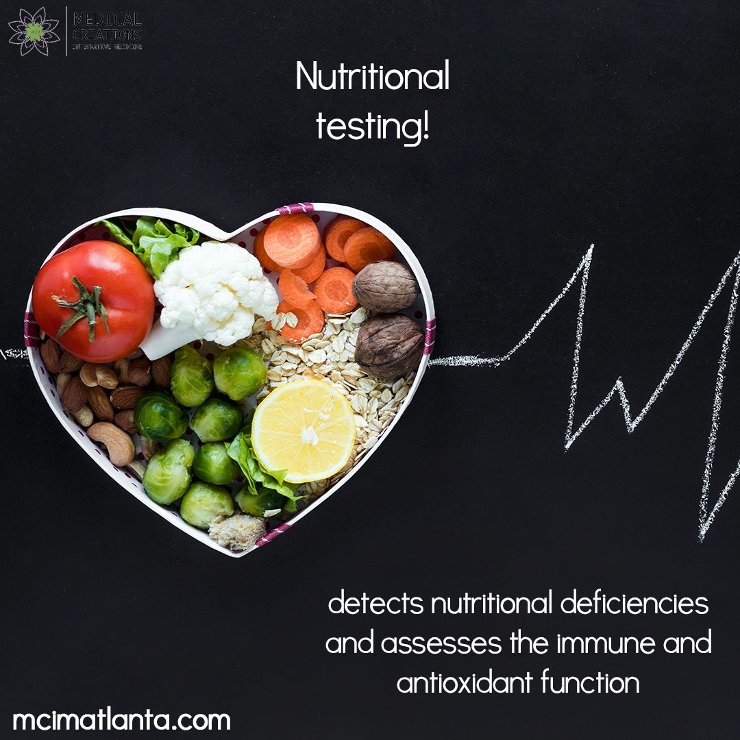 Nutritional Testing Of Food Detects Nutritional Deficiencies And Assesses The Immune And Antioxidant Fu Nutritional Deficiencies Nutrition Integrative Medicine