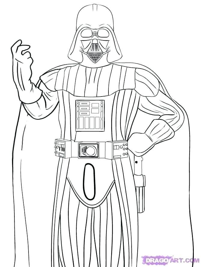Darth Coloring Penelusuran Google Darth Vader Star Wars