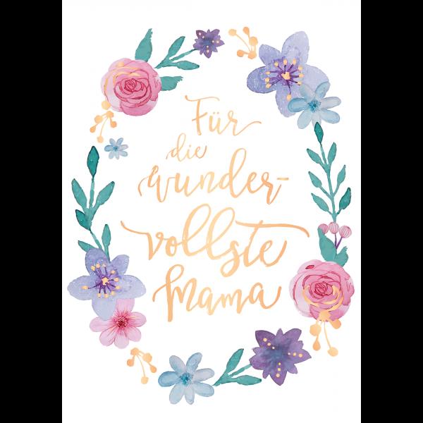 Geburtstag karte mama