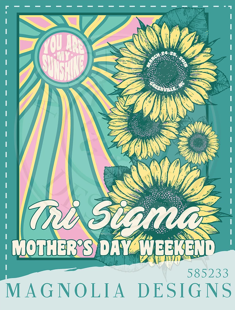 Tri Sigma Mom S Weekend Shirt Design Weekend Shirts Design Tri Sigma