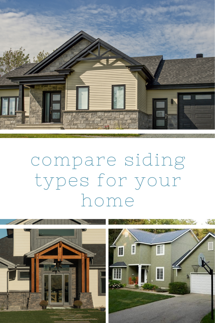 Tips For Choosing Your Siding With Images House Siding Options