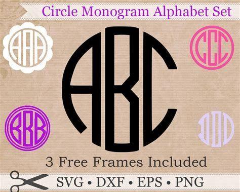 Download Image result for free monogram svg files for cricut ...