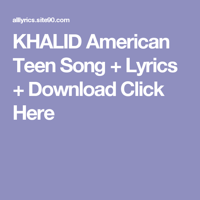 khalid american dream album zip download