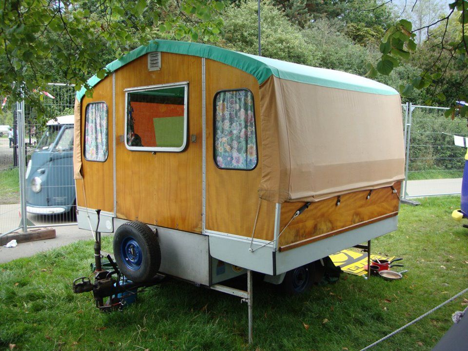 Small Travel Trailer Shelters : This is a chateau mobile tent trailer from the uk