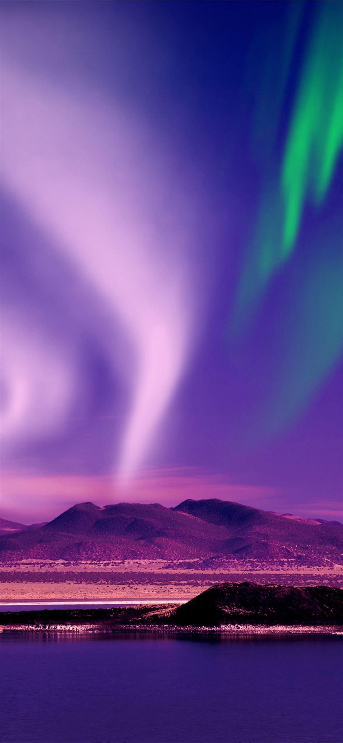 Aurora Borealis Hermosa Vista Northernlights Nature Aurora Iphone11wallpaper Best Wallpapers Android Sky Aesthetic Wallpaper