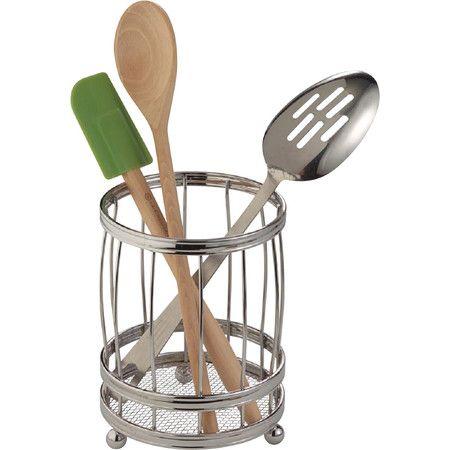 Stainless Steel Utensil Holder Utensil Holder Kitchen Countertop Storage Cooking Utensil Holder