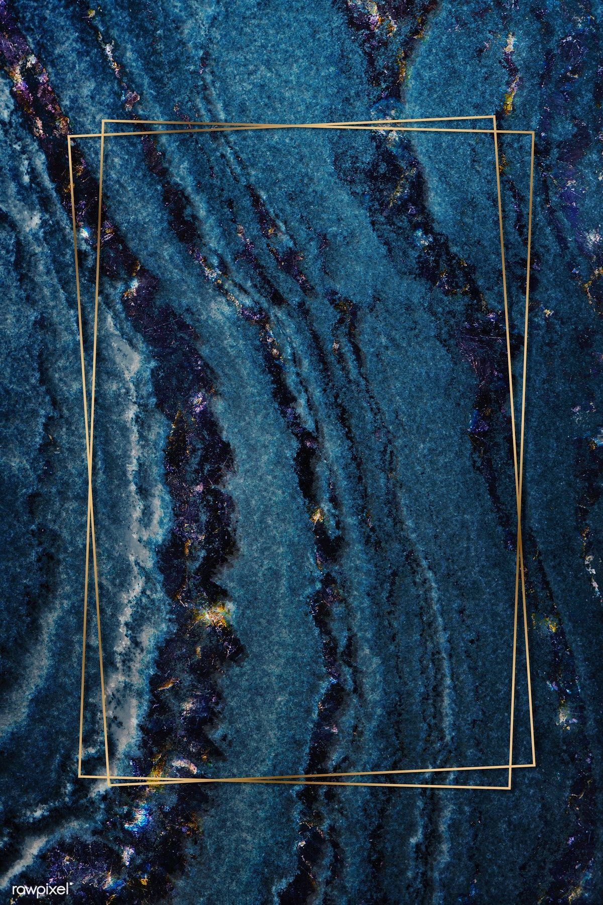 Download premium psd of Blue layered marble textured background