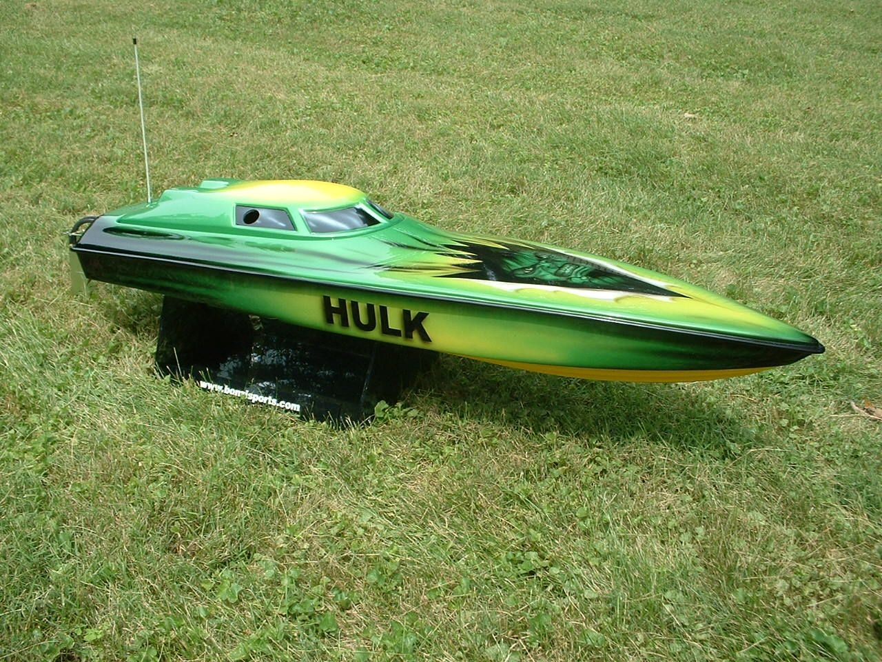 The Hulk RC Boat | Gas rc boats, Boat propellers, Radio ...