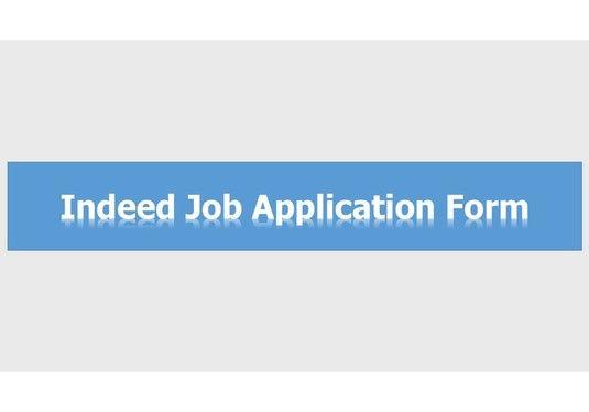 I Will Do Indeed Job Application Form Indeed Job Application Form