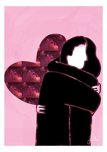 Hug - Illustration (Sara Ottavia Carolei)