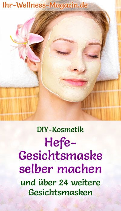 Photo of Make yeast face mask yourself – recipe and instructions