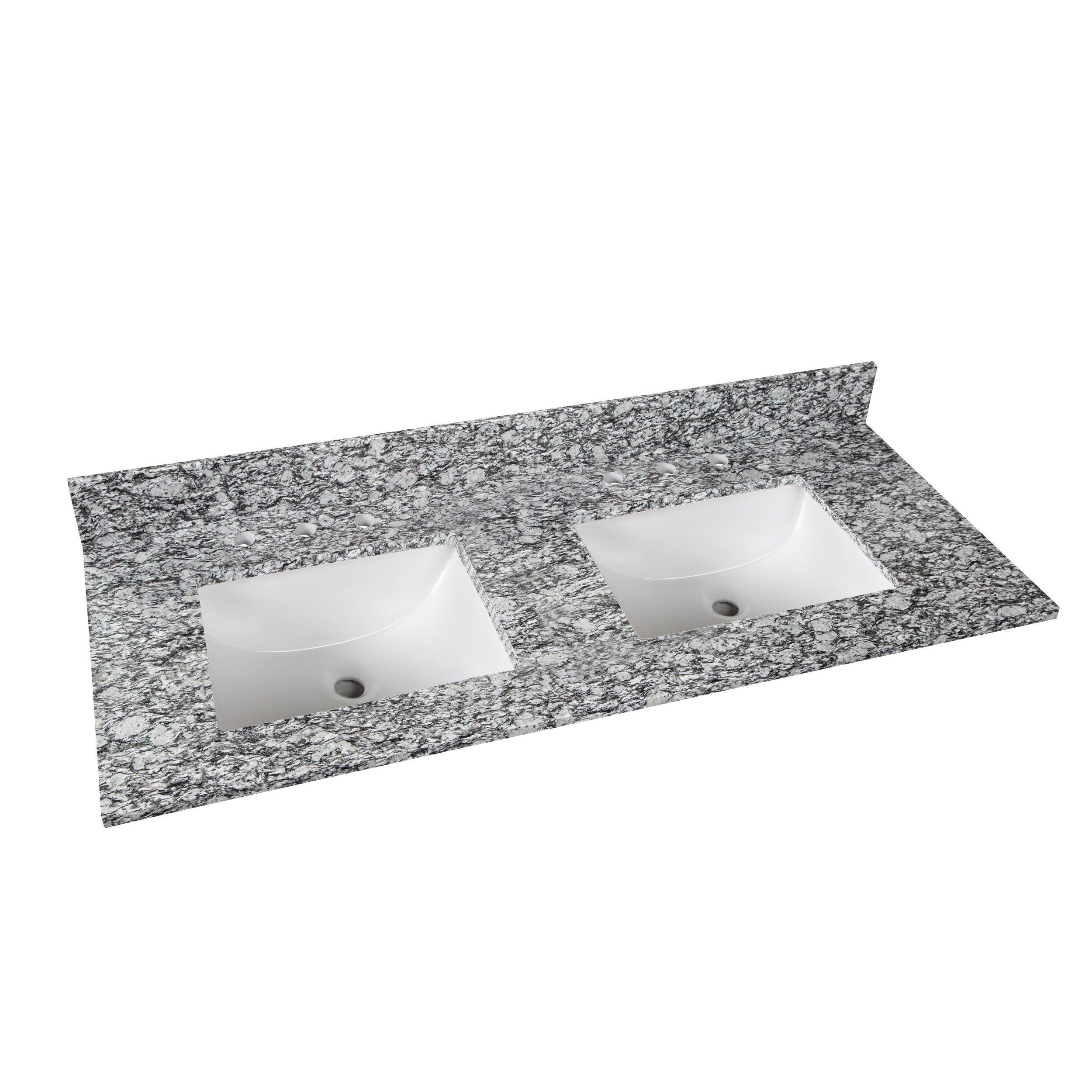 Kendall Gray Granite 61 In Vanity Top Products In 2019