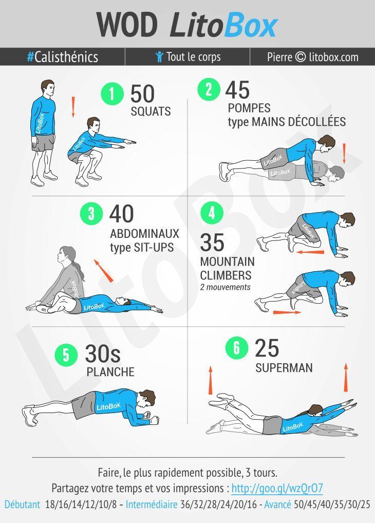 Connu routine d'entrainement maison | Programme Fitness Femme  AZ59