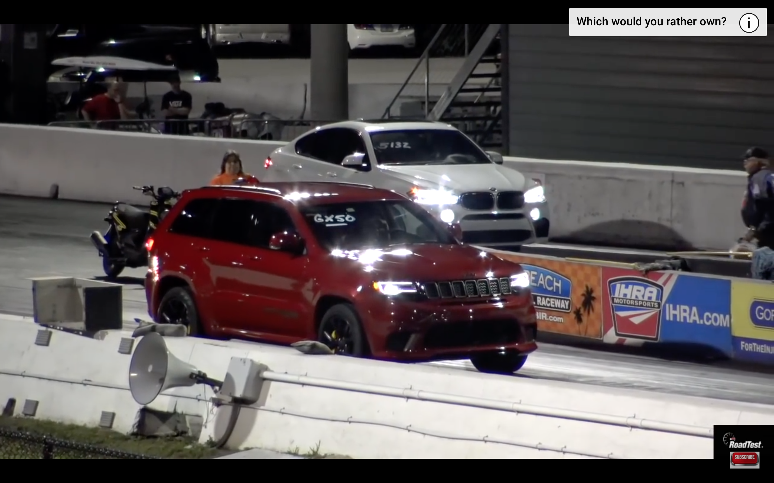 Video Jeep Srt Trackhawk Vs Bmw M6 F Ck Your Foreign Bmw