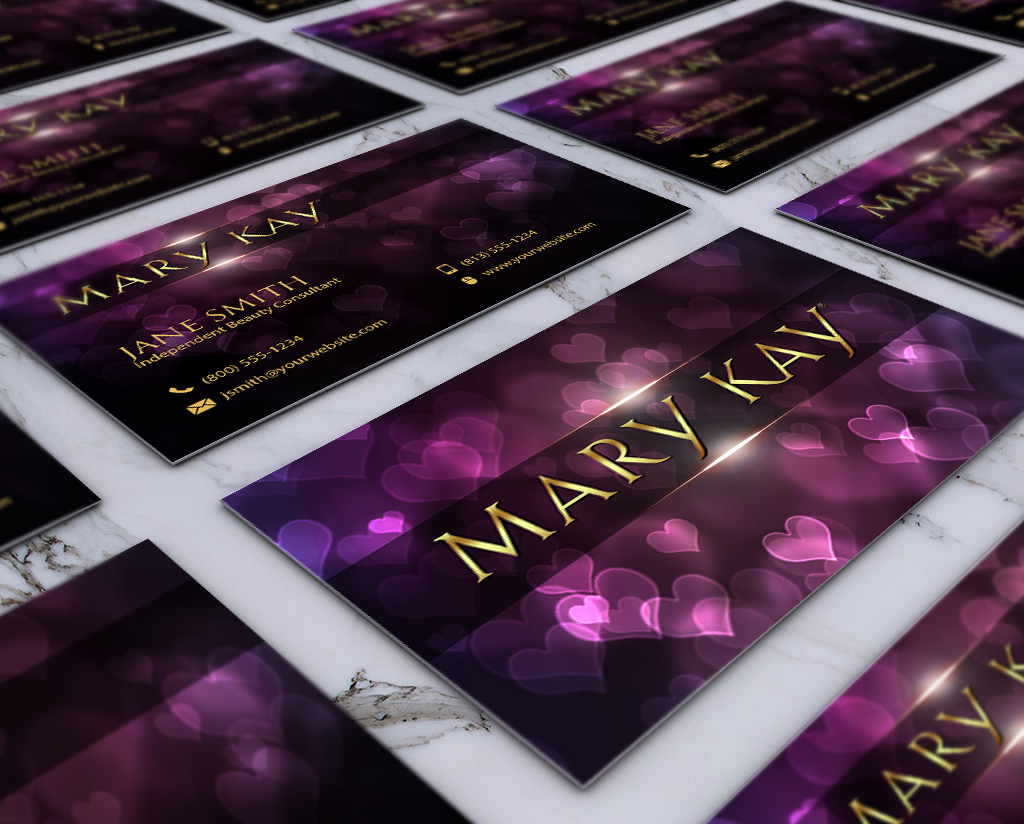 Modern cute business card design for mary kay marykay makeup modern cute business card design for mary kay marykay makeup businesscards reheart Choice Image