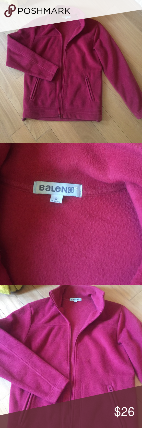 Baleno Winter Top Conditioning And Fe Balen Pink