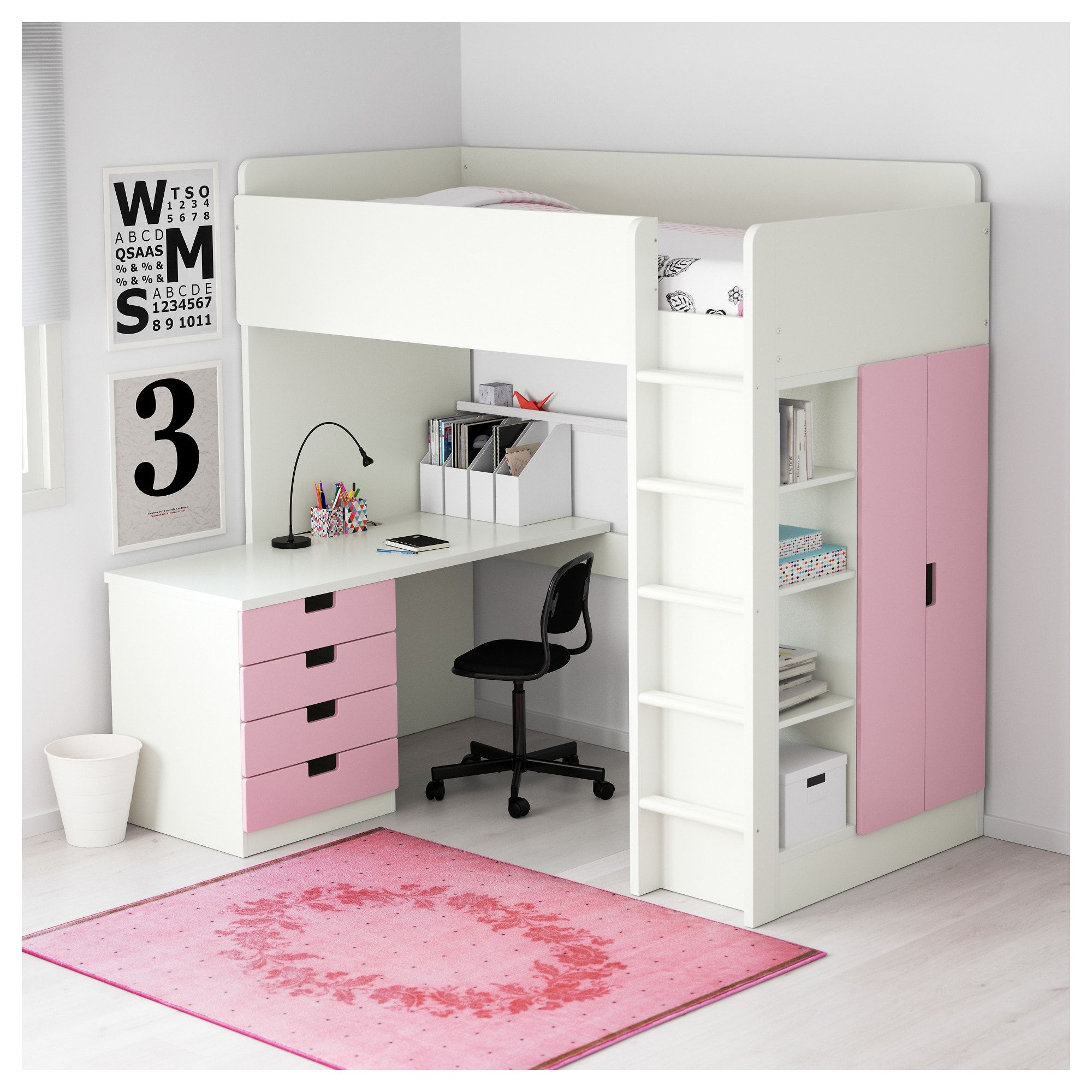 US Furniture and Home Furnishings Kids loft beds