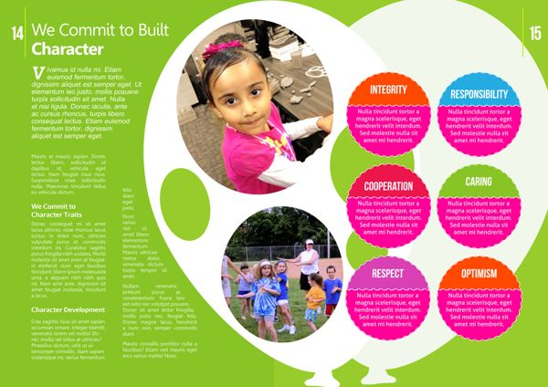 Kindergarten brochure on Behance Kinder Brochures Pinterest - sample preschool brochure