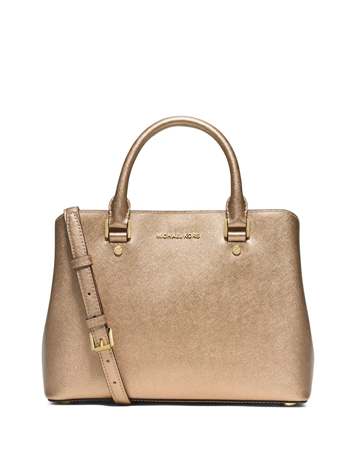 fdd9cfbd9680 MICHAEL Michael Kors Savannah Medium Satchel Bag
