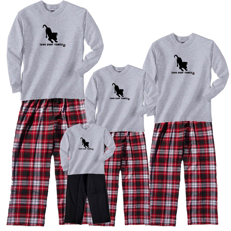 family dog matching pajamas Matching family christmas