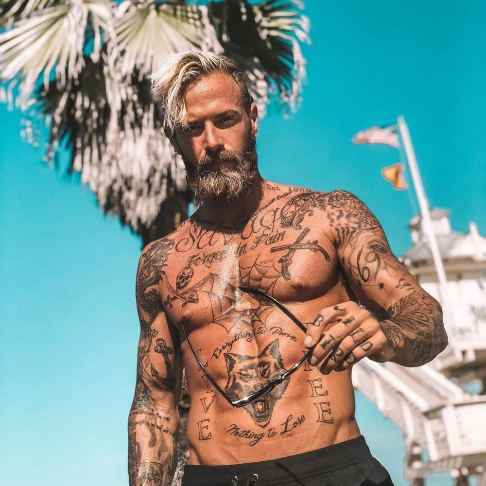 7 Hottest Places for Male Tattoos That We Love