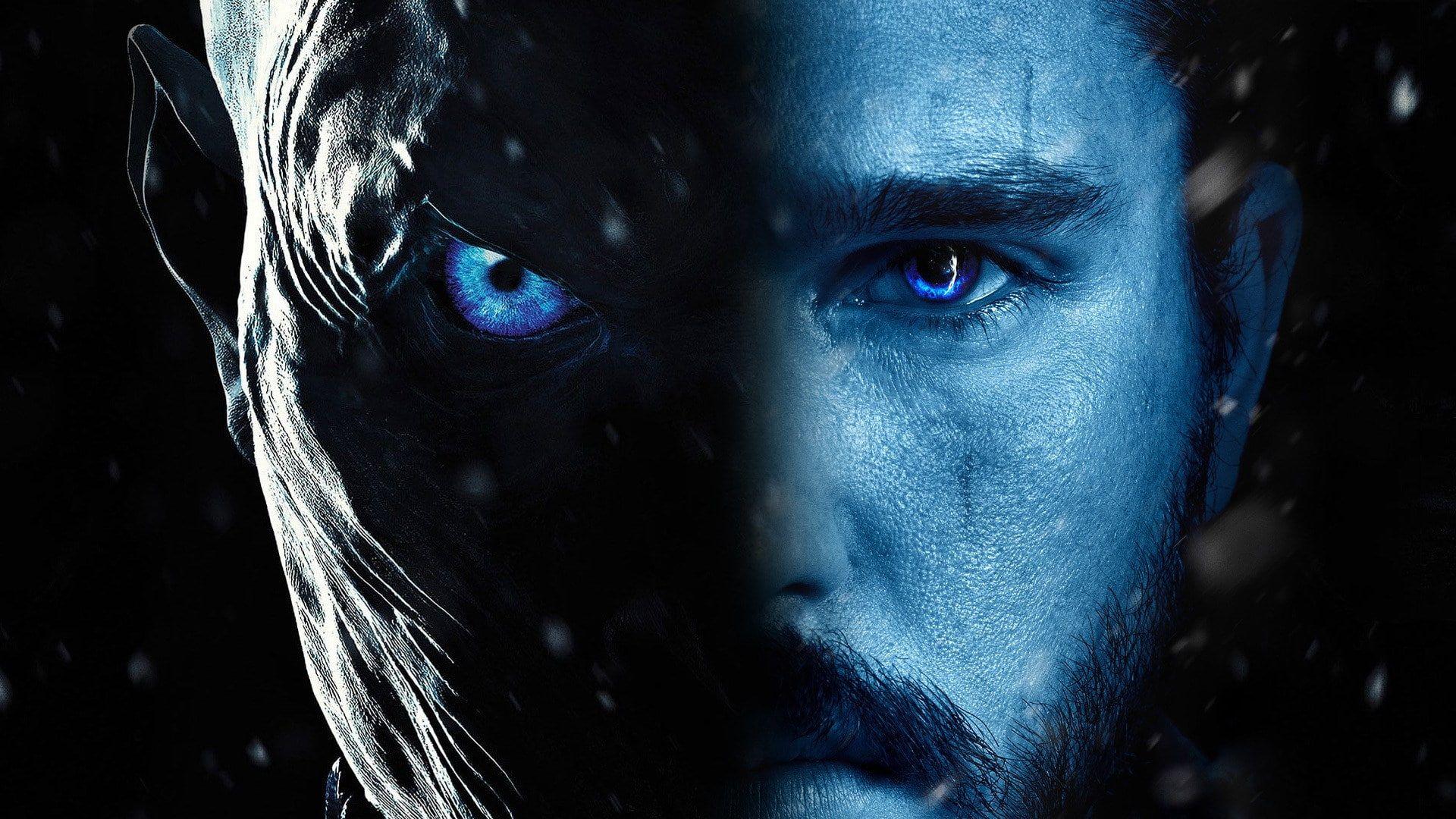 Face Tv Game Of Thrones White Walker Blue Eyes Jon Snow 1080p Wallpaper Hdwallpaper Deskto Game Of Thrones Facts Game Of Thrones Tv Watch Game Of Thrones