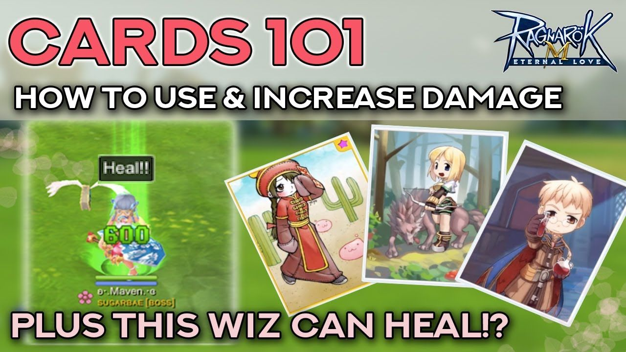 Cards 101 Increase Damage Special Effects Ragnarok Mobile Eternal Love Ragnarok Mobile Cards Eternal Love