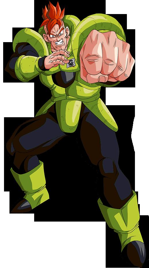 Android 16 Capsule C Render 2 Dokkan Battle By Maxiuchiha22 On Deviantart Desenho De Anime Anime Desenhos Dragonball