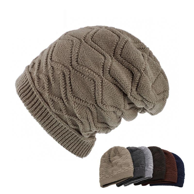 Novelty Handmade Winter Beanie Crochet Cool Batman Mask Knitted Hats Helmet Earflap Mens Womens Winter Caps Party Gorros Gifts Men's Skullies & Beanies