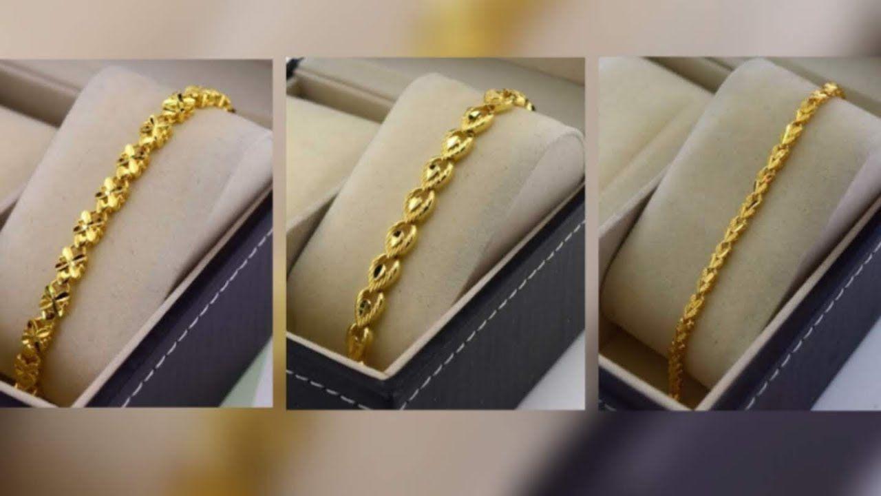 Latest Gold Bracelet Designs For Girls Gold Bracelet Collection For G Bracelet Collection Bracelet Designs Trendy Bracelets