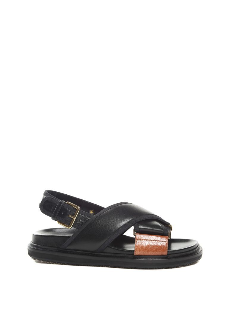 Marni Bicolor Slingback Sandals cheap shop buy online with paypal lowest price Qx2tFNJxRA