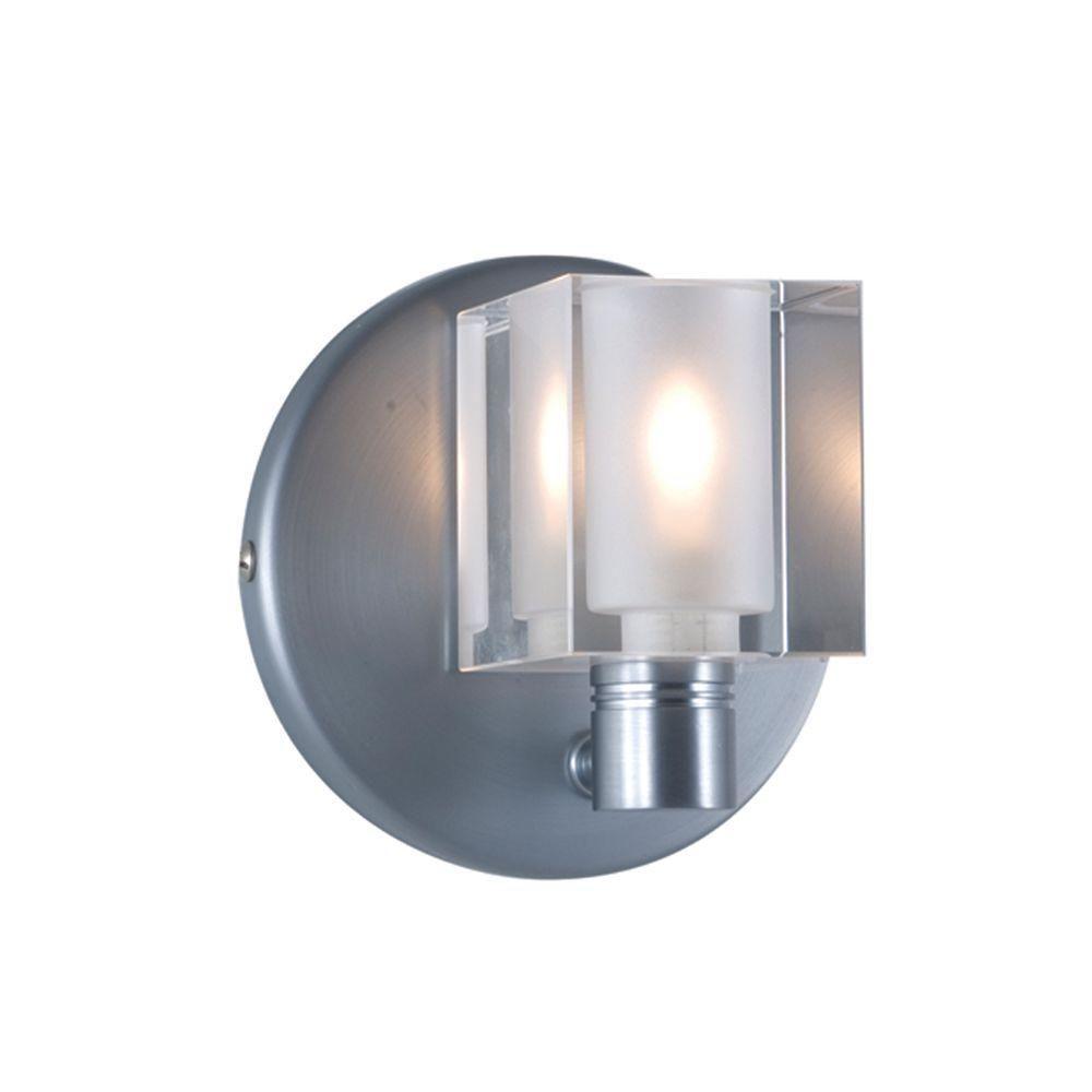 Jesco Lighting 1 Light Low Voltage Crystal Companion Wall