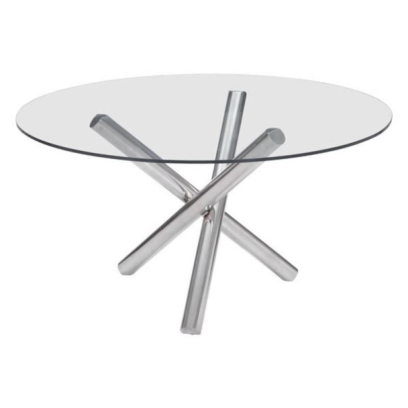 ZUO Modern Stant Round Dining Table 100352 DiningOffice TablesDesks