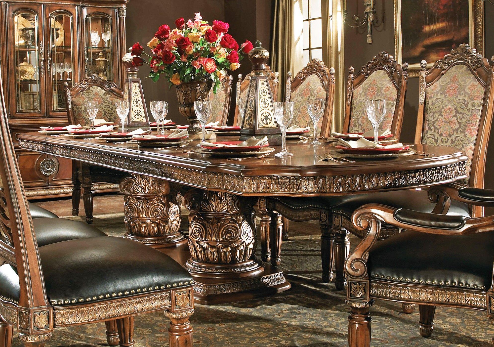 Michael Armanini Dining Room Set Michael Amini Villa Valencia