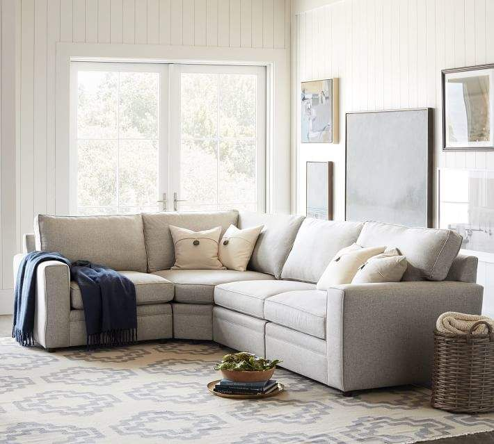Build Your Own Pearce Square Arm Upholstered Components
