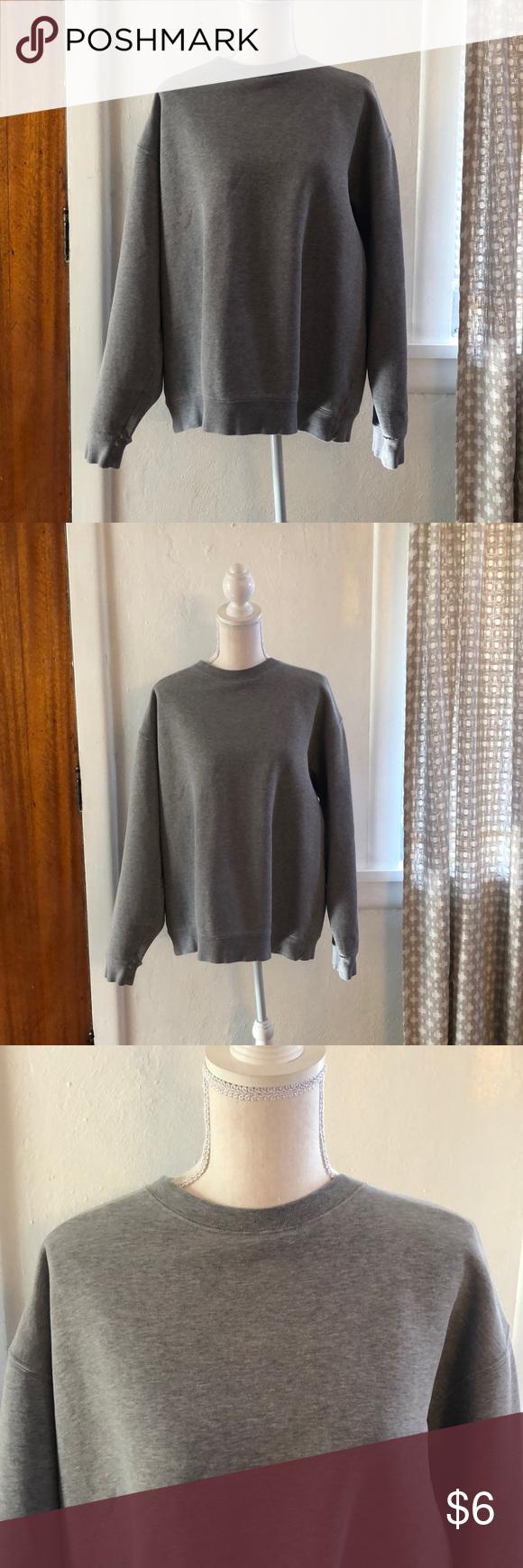 Vintage Lands End Gray Crew Sweatshirt Clothes Design Crew Sweatshirts Vintage Sweatshirt [ 1740 x 580 Pixel ]