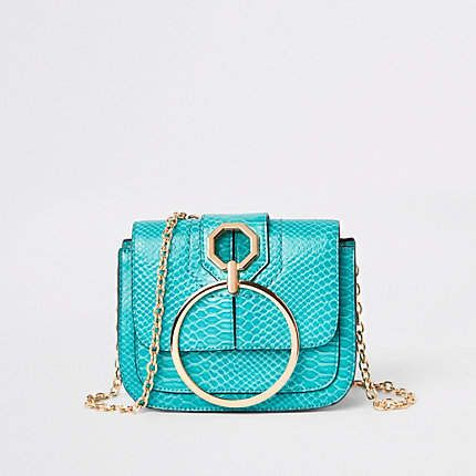 d88cc9f88 Bright green ring front cross body bag in 2019   Products   Green ...