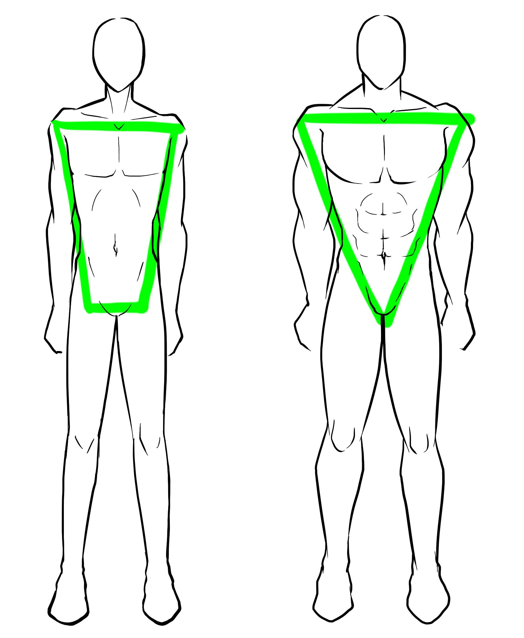 Image result for how to draw male body
