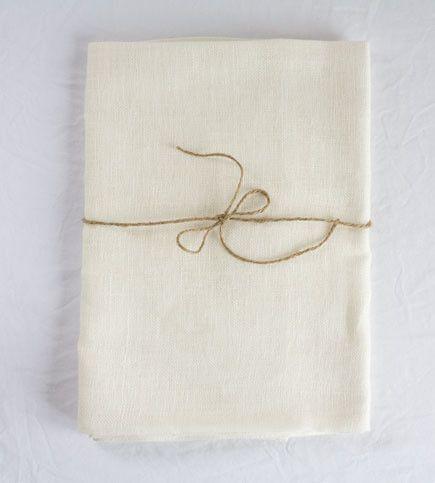 Fog Linen Tablecloth
