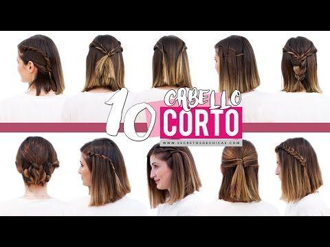10 Peinados Faciles Para Cabello Corto O Media Melena Patry Jordan