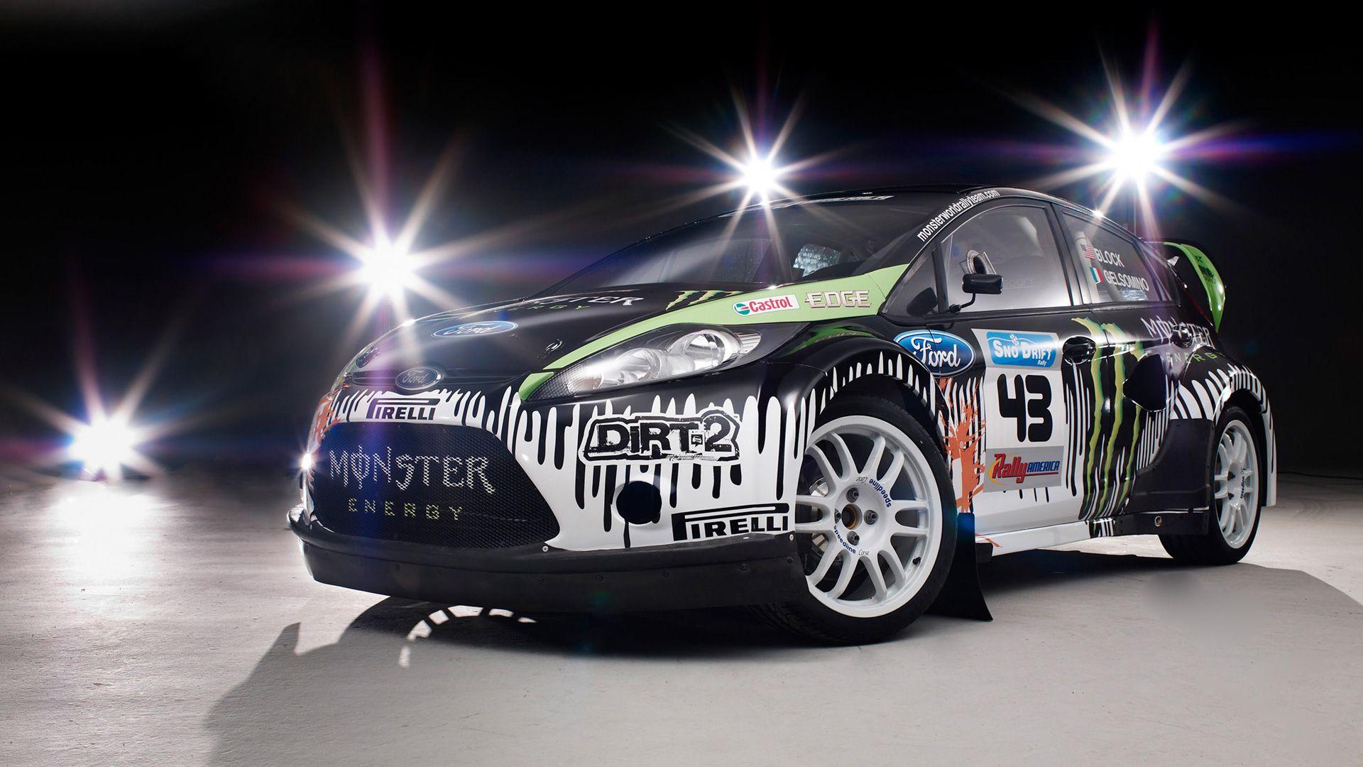 Ford Fiesta Monster Energy Wallpaper Hd Wallpaper Carro