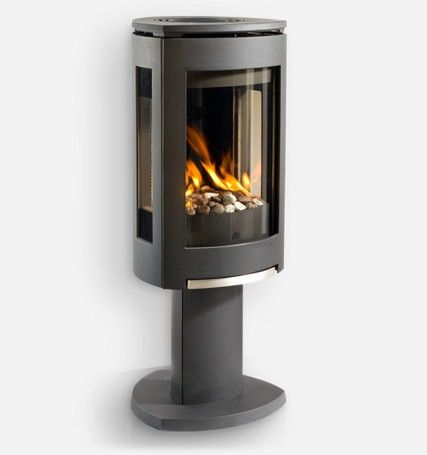 Jotul Gf370 Dvii Gas Stove Corner Gas Fireplace Small Gas Fireplace Gas Fireplace