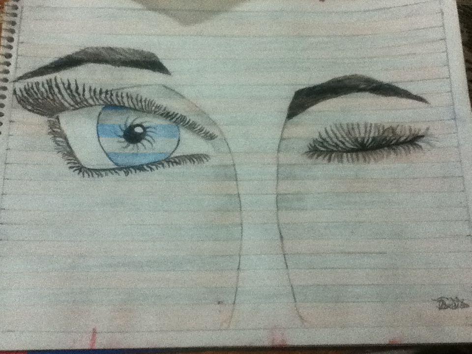 Otro trabajo terminado! :) #Ojos