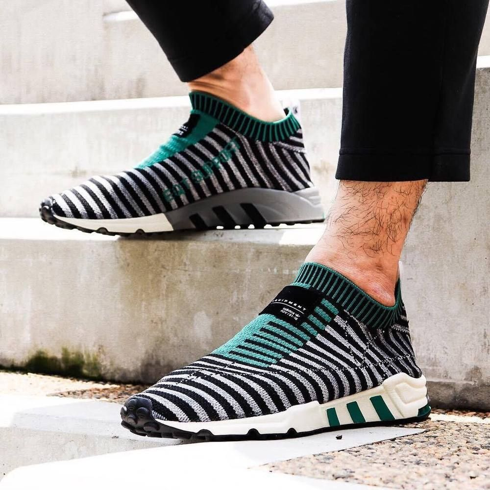 best service 6d51f 6a931 adidas EQT Support PK  Core BlackgreySub Green  Mens Trainers B37522  adidas RunningShoes