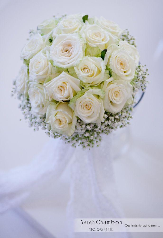 Marvelous Bouquet De Mariee Blanc #3: Mariage Blanc / Le Bouquet De Mariée.