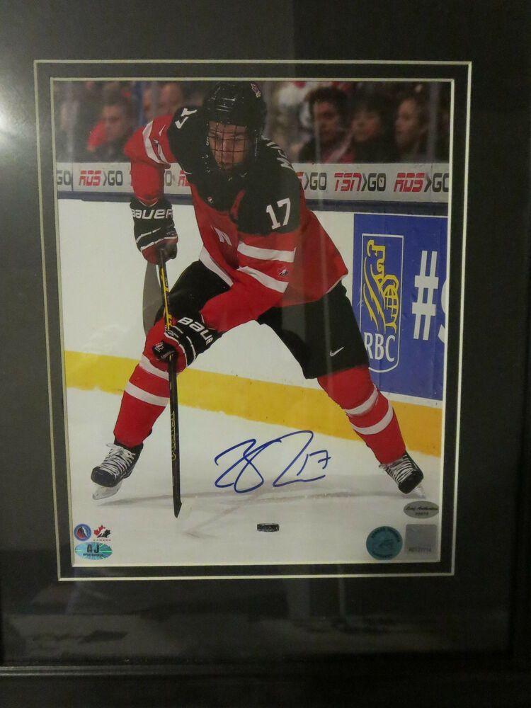 cheaper dcc80 e4fe7 Connor McDavid Signed Memorabilia 8x10 Photo Team Canada COA ...
