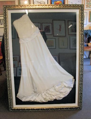 The Stables Framing Workshop - Wedding Gown Framing | One Marriage ...